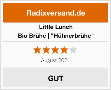 "Little Lunch Bio Brühe | ""Hühnerbrühe"" Test"