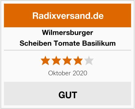 Wilmersburger Scheiben Tomate Basilikum Test