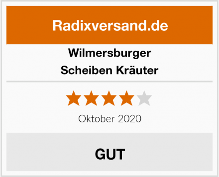 Wilmersburger Scheiben Kräuter Test