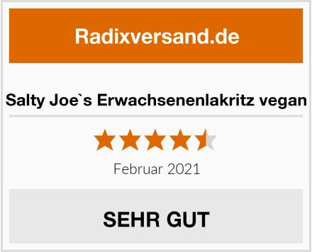 Salty Joe`s Erwachsenenlakritz vegan Test