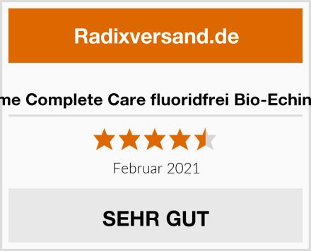 lavera Zahncreme Complete Care fluoridfrei Bio-Echinacea & Calcium Test