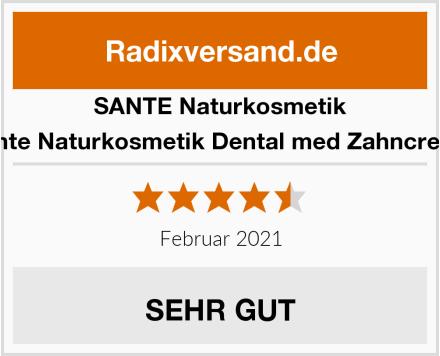 SANTE Naturkosmetik Sante Naturkosmetik Dental med Zahncreme Test
