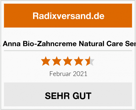 Ben & Anna Bio-Zahncreme Natural Care Sensitive Test