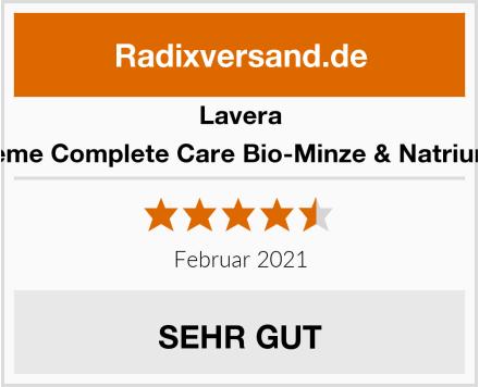 Lavera Zahncreme Complete Care Bio-Minze & Natriumfluorid Test