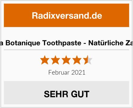 Himalaya Botanique Toothpaste - Natürliche Zahnpasta Test