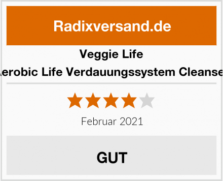 Veggie Life Aerobic Life Verdauungssystem Cleanser Test