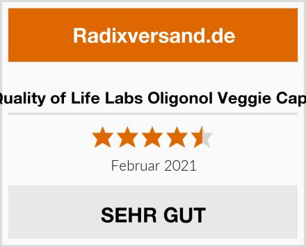 Quality of Life Labs Oligonol Veggie Caps Test