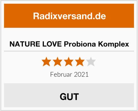 NATURE LOVE Probiona Komplex Test