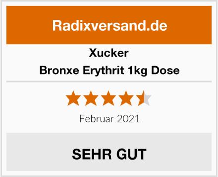 Xucker Bronxe Erythrit 1kg Dose Test