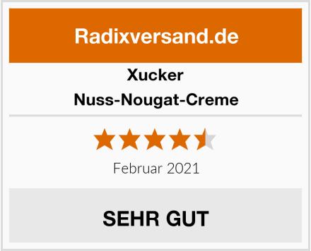 Xucker Nuss-Nougat-Creme Test
