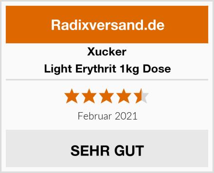 Xucker Light Erythrit 1kg Dose Test