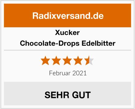 Xucker Chocolate-Drops Edelbitter Test