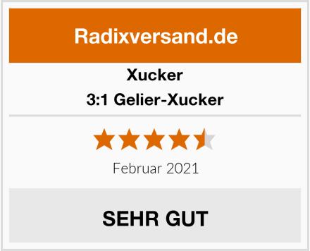 Xucker 3:1 Gelier-Xucker Test