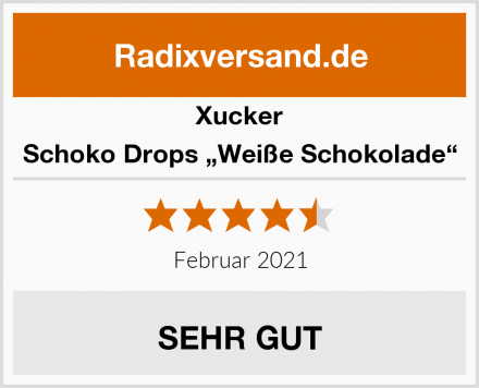 "Xucker Schoko Drops ""Weiße Schokolade"" Test"