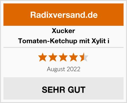 Xucker Tomaten-Ketchup mit Xylit i Test