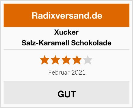 Xucker Salz-Karamell Schokolade Test