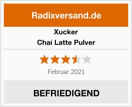 Xucker Chai Latte Pulver Test