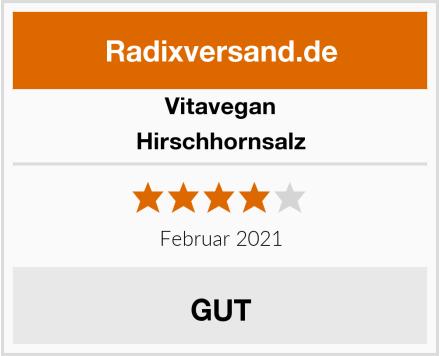 Vitavegan Hirschhornsalz Test