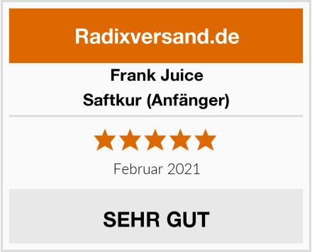 Frank Juice Saftkur (Anfänger) Test