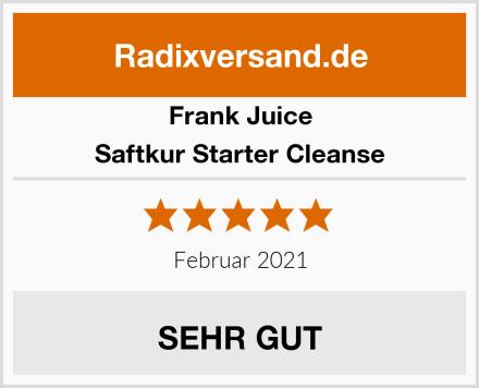 Frank Juice Saftkur Starter Cleanse Test