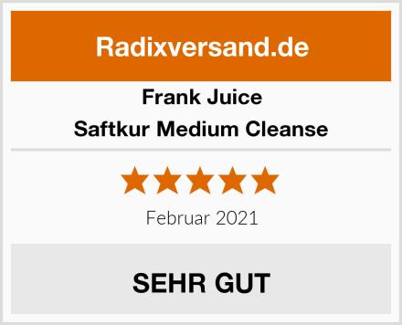 Frank Juice Saftkur Medium Cleanse Test