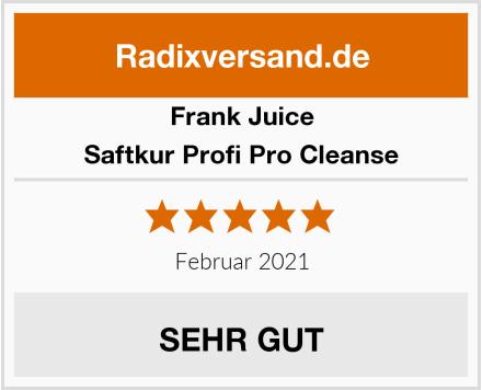 Frank Juice Saftkur Profi Pro Cleanse Test