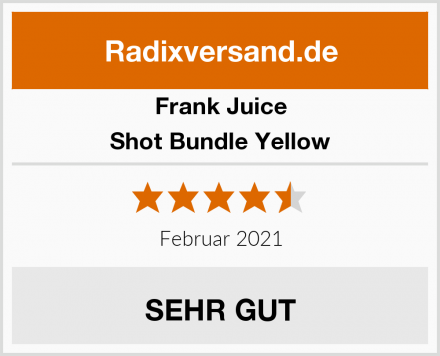 Frank Juice Shot Bundle Yellow Test