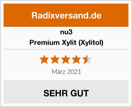 nu3 Premium Xylit (Xylitol) Test