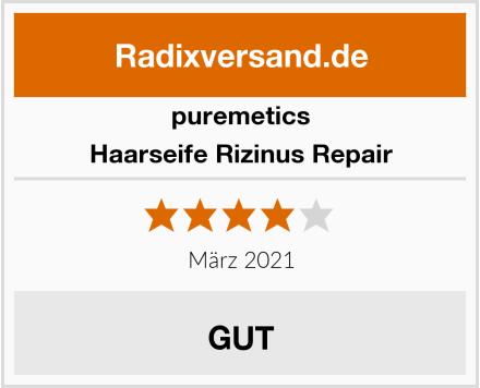 puremetics Haarseife Rizinus Repair Test
