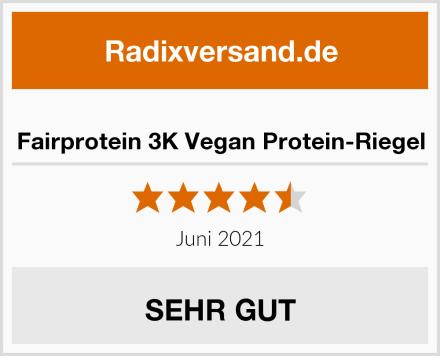 Fairprotein 3K Vegan Protein-Riegel Test