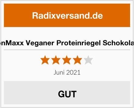 IronMaxx Veganer Proteinriegel Schokolade Test