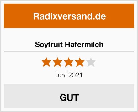 Soyfruit Hafermilch Test