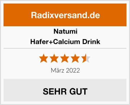 Natumi Hafer+Calcium Drink Test