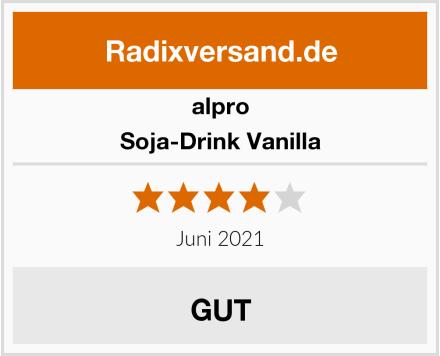 Alpro Soja-Drink Vanilla Test