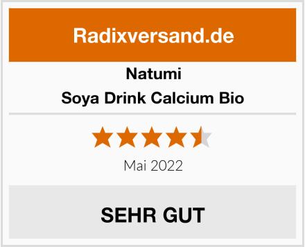Natumi Soya Drink Calcium Bio Test