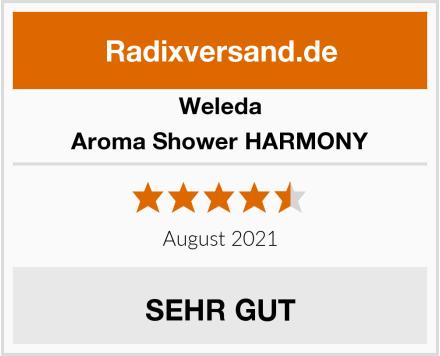 Weleda Aroma Shower HARMONY Test