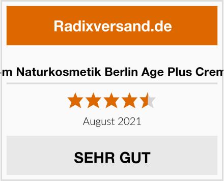 i+m Naturkosmetik Berlin Age Plus Creme Test