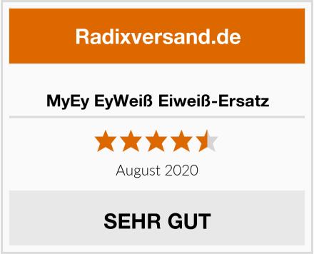 MyEy EyWeiß Eiweiß-Ersatz Test