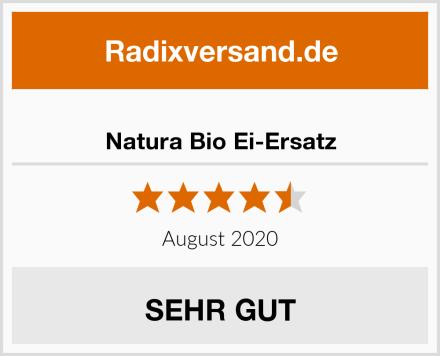 Natura Bio Ei-Ersatz Test