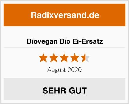 Biovegan Bio Ei-Ersatz Test