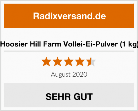 Hoosier Hill Farm Vollei-Ei-Pulver (1 kg) Test