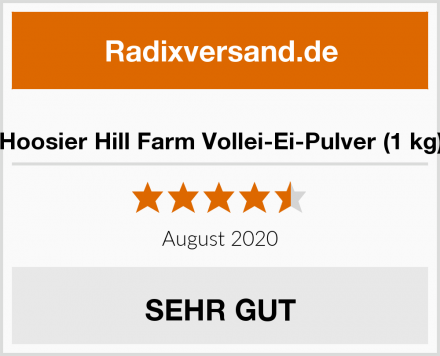 Hoosier Hill Farm Vollei-Ei-Pulver (1 kg) Test