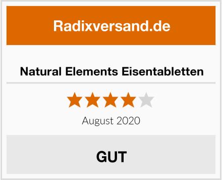 Natural Elements Eisentabletten Test