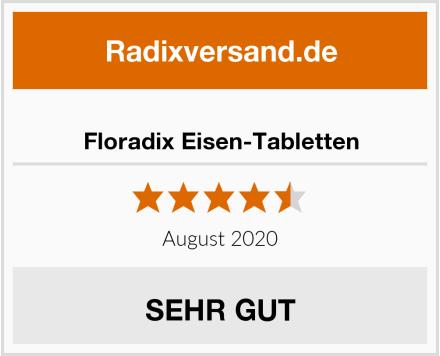 Floradix Eisen-Tabletten Test