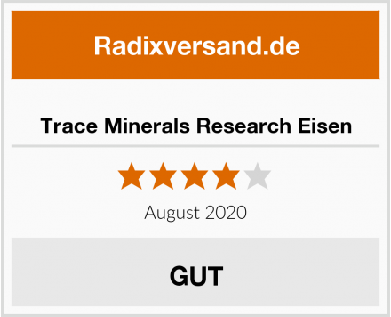 Trace Minerals Research Eisen Test