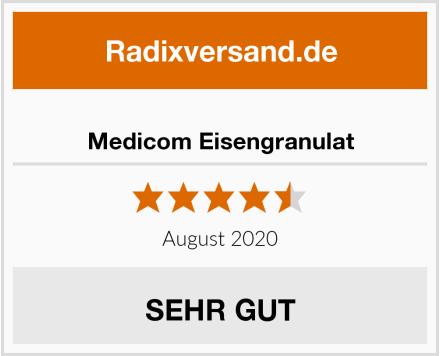 Medicom Eisengranulat Test