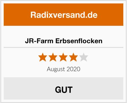 JR-Farm Erbsenflocken Test