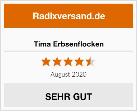 Tima Erbsenflocken Test