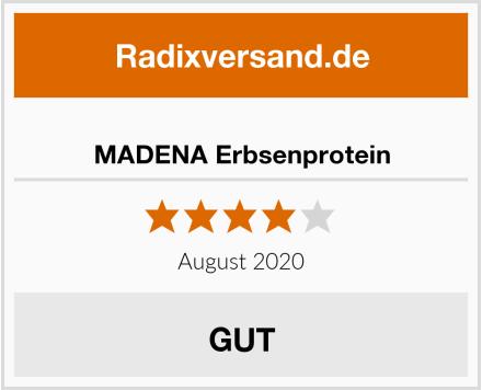 MADENA Erbsenprotein Test