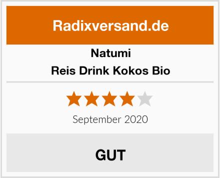 Natumi Reis Drink Kokos Bio Test